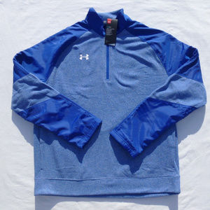 Under Armour Men Performance Fleece Blue 3XL XXXL